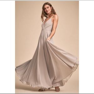 The Eva Dress BHLDN - Grey